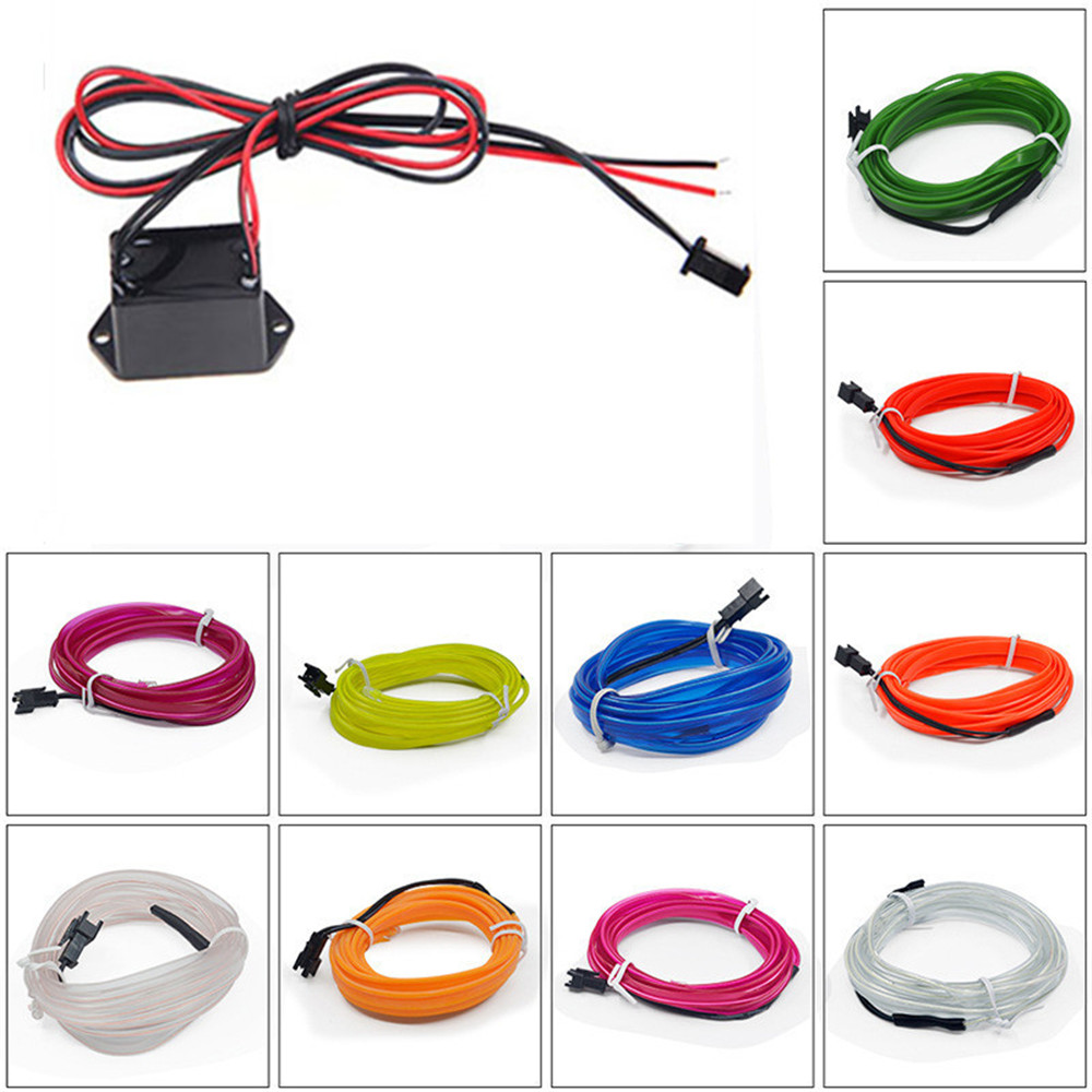 Wire and DC 12V
