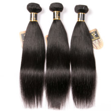 Paquetes de cabello lacio malayo 100% cabello virgen humano Color Natural no Remy Yavida extensiones de cabello 1 y 3 y 4 PC/lote(China)