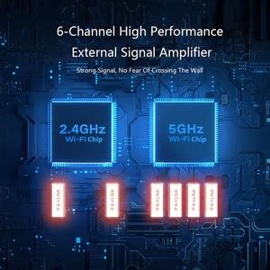 Image 3 - Xiaomi AIoT беспроводной маршрутизатор 6 AX3600 2,4 ГГц Wi Fi 5 ГГц Wi Fi ретранслятор 2976 Мбит/с двумя антеннами 512 Мб оперативной памяти 6 Сетевой удлинитель APP управление