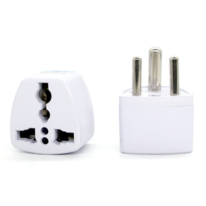 Image 5 - 1PC 3 pin Universal UK/US/EU/AU to Small South Africa India Travel Pulg Adaptor AC Power Multi Function Outlet Adapter Socket