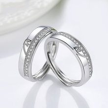Роскошное кольцо из стерлингового серебра s925 пробы простое