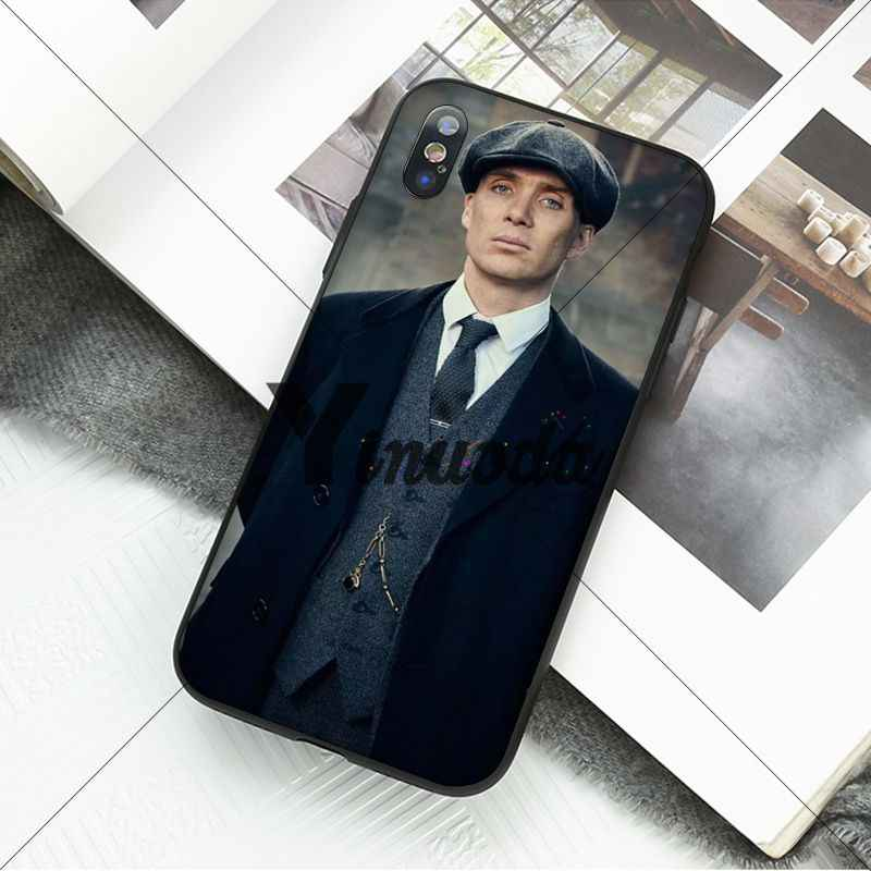 Yinuoda Thomas Shelby Peaky Blinders นุ่มสำหรับ iphone ของ Apple iphone 8 7 6 6S Plus X XS MAX 5 5S SE XR 11 11pro max Cover