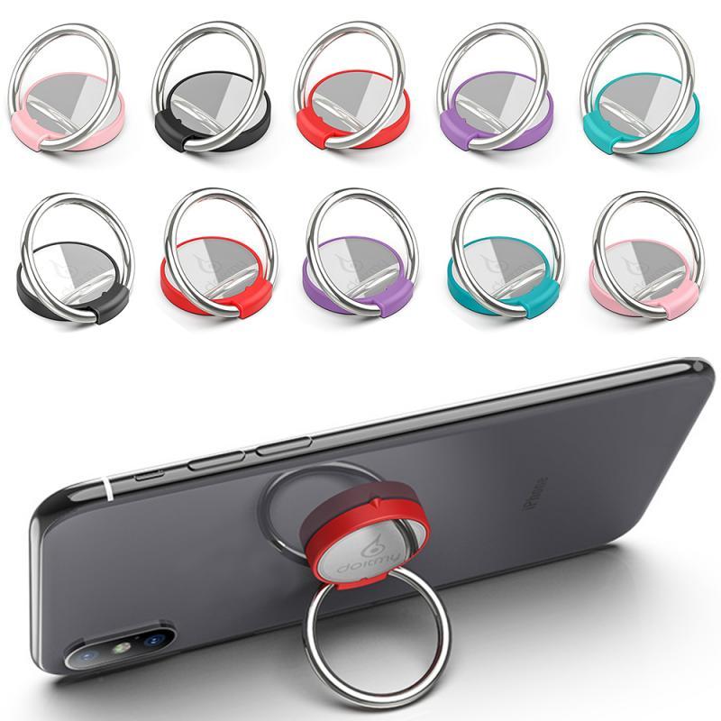 Doitmy Round Multi-Function Car Phone Holder Ring Buckle Mobile Phone Case Bracket Smartphone & Tablet Ring Holder