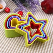 5 шт./компл. Рождественский 3D Fondant(сахарная) печенья пресс-форм для выпечки инструменты многоцветный