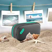 LEORY BS 100 Wireless bluetooth Speaker Bass Stereo Waterproof Outdoors Amplifier Sport Soundbar with Mic