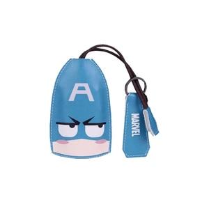 Image 3 - Super Hero Key Case For Car Cartoon Car Key Case Bag Leather Key Case Cover Multi Function Key Case Car Accessories