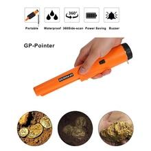 Detector de Metales de mano pinpointer gp-pointer GP360, aguja de alta sensibilidad, localizador de metal dorado