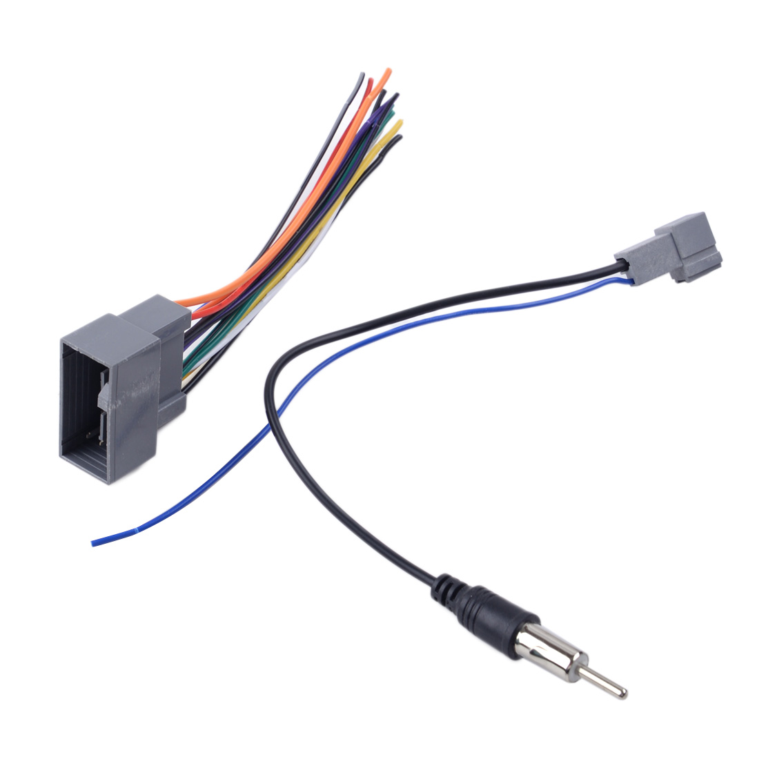 2 pcs <font><b>Radio</b></font> Stereo Wire Wiring Harness Cable Antenna <font><b>Adapter</b></font> Fit For <font><b>Honda</b></font> Civic CRV Odyssey <font><b>Jazz</b></font> Acura TSX image