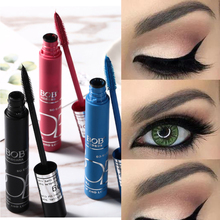 цена на BOB Silk Mascara Individual Curl Eyelash Extension Colossal Mascara Volume Express Makeup 1pc Black Ink Alobon 3d Fiber Lashes