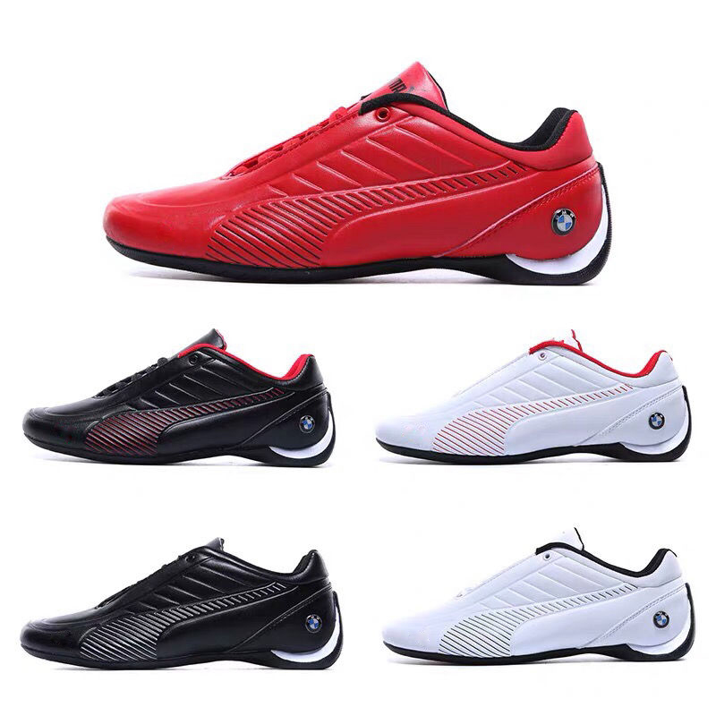 2020 Summer Classic PUMAS Men's Ferraring Drift Cat 5 BMW Sneakers Man Leather Racing Shoes Comfortable Mesh Sports Shoes