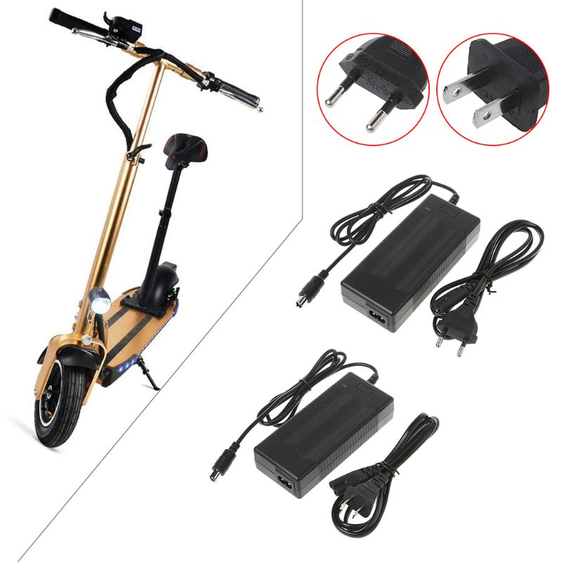 For Xiaomi M365 Electric Scooter Skateboard Charger Adapter Charging Device 42V 2A US/EU Plug Professional Charger U1JC