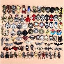 Мстители герой es классический герой Капитан Америка Железный человек паук Супермен 4 красивых мужчин и щит 40 стилей автомобиля брелок