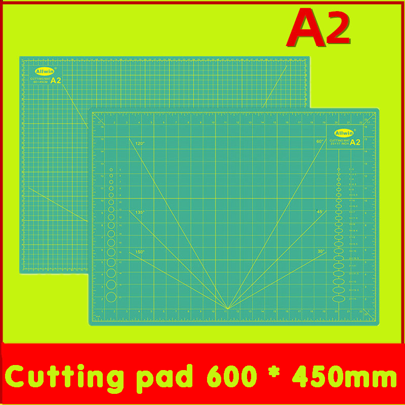 Cutting Pad Plate A2 60 * 45cm Knife Pad Plate Knife Ring Plate Carved Paper Plate Diy Manual Self-healing Pvc Engraving Plate