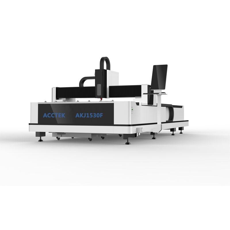 Raycus IPG 500W 750W 1000W CNC Metal Fiber Laser Cutting Machine/ Good Service Fiber Laser Cutter AKJ1530F