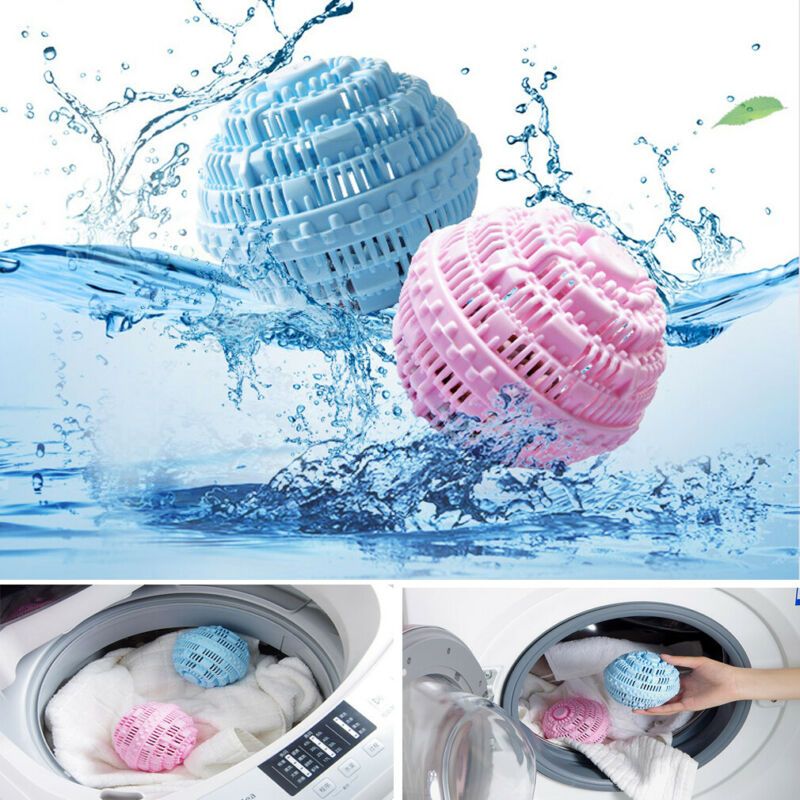 1Pcs Laundry Cleaning Ball No Detergent Clothes Washing Machine Wash Ball Physical Laundry Ball Magic Decontamination Clean Ball