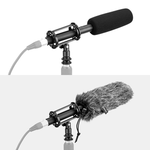 Image 5 - Boya BY BM6060 super cardióide condensador microfone 60hz 20000hz 3 pinos xlr phantom power + choque montar bolsa de transporte