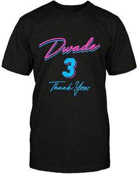 Dwyane Wade 3 D Wade Thank You T Shirt Men Women TEE Shirt More Size And Colors