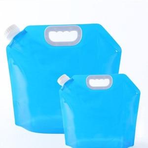 Image 4 - 5L/10LOutdoor 접이식 접이식 식수 차 워터 가방 캐리어 컨테이너 야외 캠핑 하이킹 피크닉 응급 키트