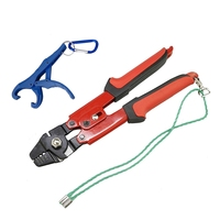 Fishing Crimper Pliers (4 Crmping Size Heavy Duty Made) with Hardened Jaws and Cutters|Fishing Tools| |  -