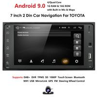 2din Android 9.0 Car Media Player for Toyota RAV4 Prado Corolla Vios Hilux Terios Vitz Avanza Land Cruiser 4Runner FJ Cruiser PC