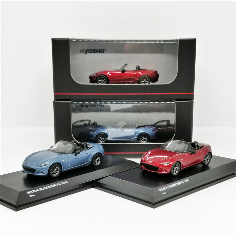 1:64 Kyosho Mazda Roadster RS 2015 Diecast Model Car