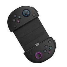 Contrôleur de jeu avec Type c charge rapide + télescope support pour téléphone Portable poignée de jeu joystick boutons sensibles conception