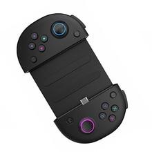أذرع التحكم في ألعاب الفيديو مع نوع c شحن سريع + حامل هاتف تلسكوب المحمولة مقبض اللعبة تصميم أزرار المقود الحساسة