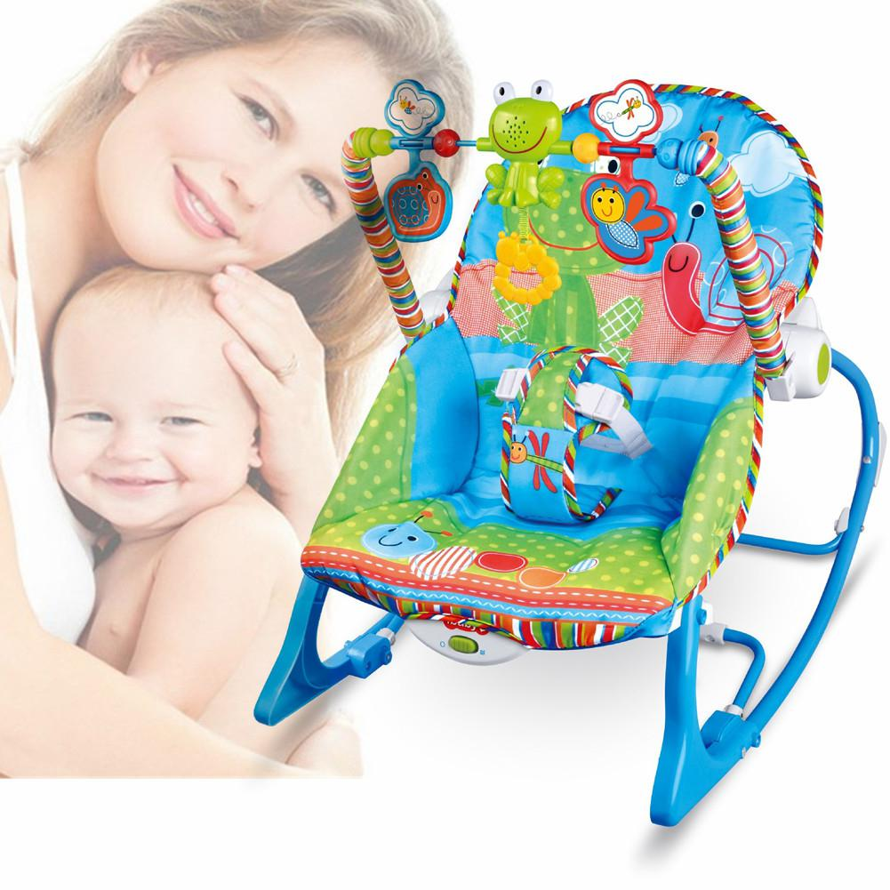 Kidlove Baby Multi-function Music Electric Swing Appease Rocking Chair Baby Cradle