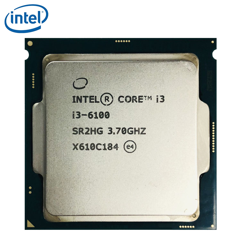 Intel Core i3-6100 i3 6100 3.7GHz Dual-Core Quad-Thread 51W CPU Processor LGA 1151 tested 100% working 1
