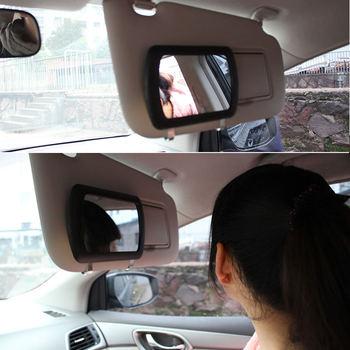 Klip na osłona przeciwsłoneczna do samochodu lustro kosmetyczne przeciwsłoneczne lusterko kosmetyczne samochód lusterko przeciwsłoneczne tanie i dobre opinie SPEORX RUIYYT CN (pochodzenie) Lusterka wewnętrzne Car Makeup Mirror Car Makeup Mirror *1 13cm