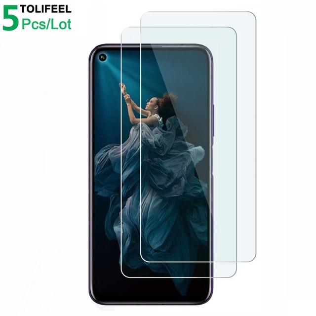 5 adet temperli cam Huawei onur 20 ekran koruyucu 9H 2.5D telefonu koruyucu cam için Huawei onur 20 Pro cam