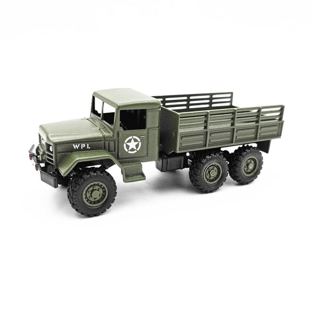 High Simulation 1:64 Alloy Car WPL MB14 Military Truck Model Vehicle Kids Toys