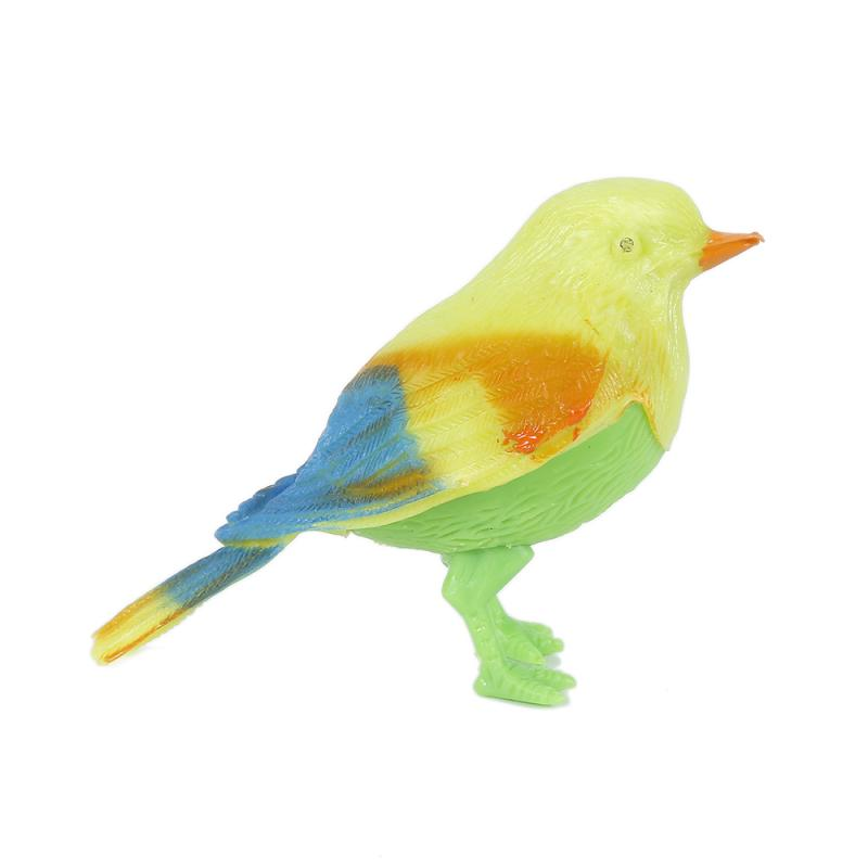 Sing Song Bird Toys Baby Electronic Pet Toys Singing Chirping Birds Toy Voice Control Realistic Sounds Movements Kids dropship