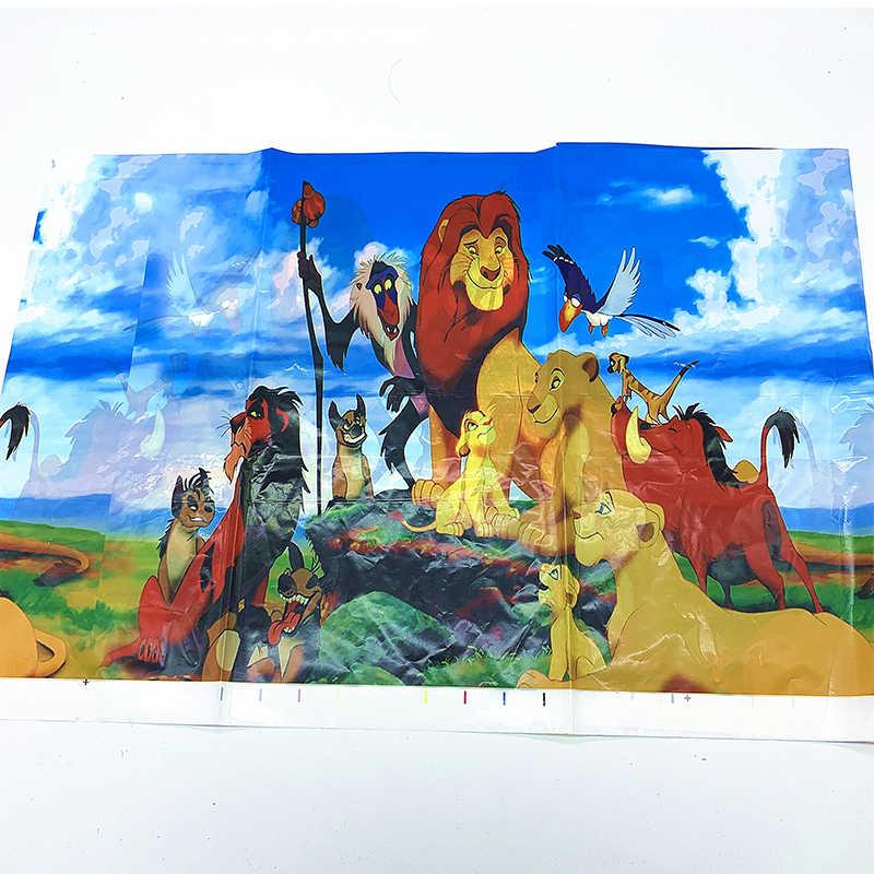 Lion GUARD PARTY PARTY ตกแต่งถ้วยกระดาษแผ่นแบนเนอร์บอลลูนอาบน้ำเด็กเด็กวันเกิด Lion King Simba PARTY Supplies