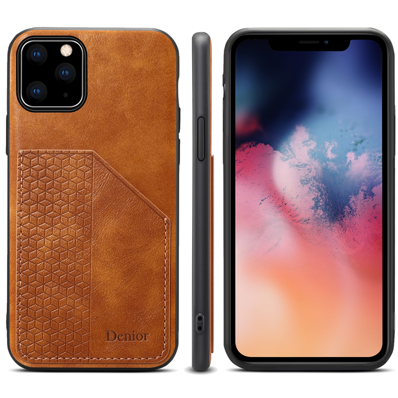 Luxury Leather Card Holder Case for iPhone 11/11 Pro/11 Pro Max 6