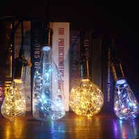 Led Light Bulbs 3D Decoration Bulb A60 Bottle CT G80 G95 G125 ST64 Heart Skull E27 Ampoule Holiday Lights Lamp For Home Decor