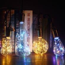 Ampoule de décoration 3D A60, bouteille CT G80 G95 G125 ST64, cœur et crâne, E27, lampe de vacances pour la décoration de la maison