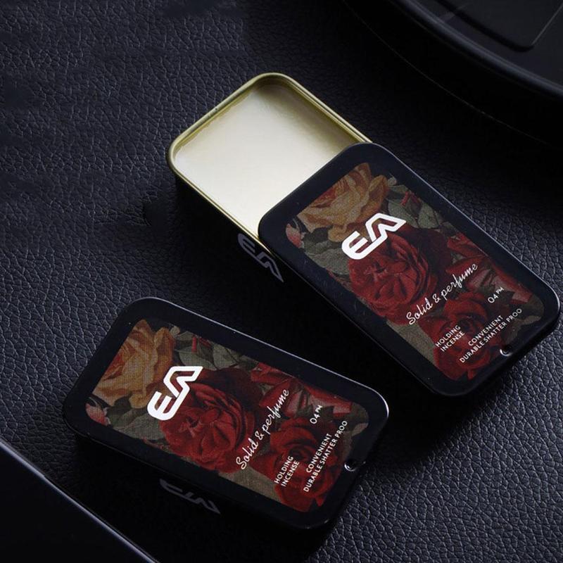 Solid Parfum Portable Fragrances Adult Solid Perfume Portable Case Solid Balm Mild Long Lasting Aroma Deodorant Fragrance Balm