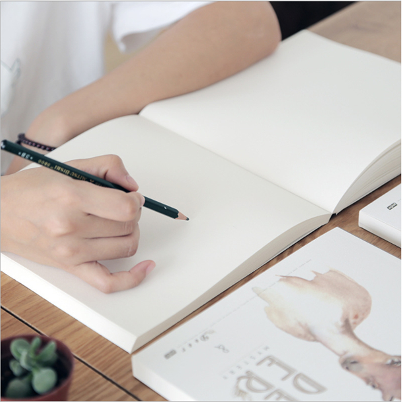 20K 80 Sheets Sketch Book For Drawing Painting Professional Graffiti Sketch Paper Book School Supplies Stationery