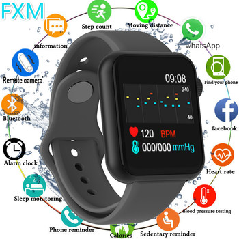 Fashion Smart Watch Waterproof Blood Pressure Monitor Clock Men Women Heart Rate Fitness Tracker Sport Watches For Android IOS smart watch men blood pressure waterproof smartwatch women heart rate monitor fitness tracker watch smart sport for android ios