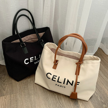 Luxury Bags Purse Gg Women's Shoulder-Bag Letter Canvas Casual Tote Large-Capacity Fashionable