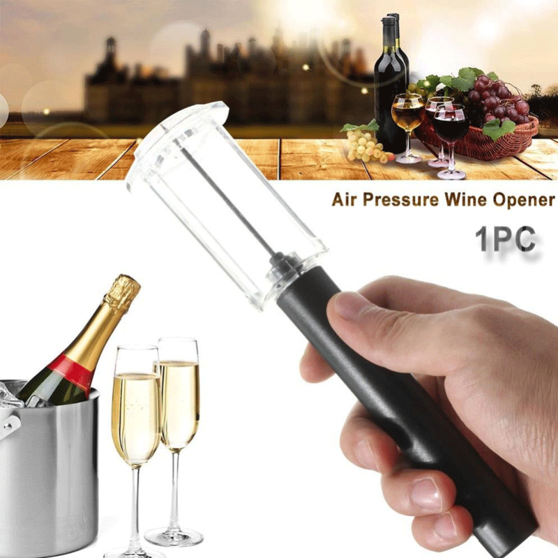 2020 Functional Red Wine Bottle Opener Cork Remover Easy Air Pump Pressure Corkscrew Tools Hot Sale Party Red Wine Opener(China)