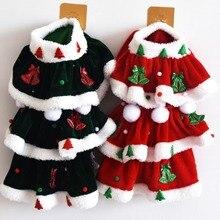 Dog Pet-Clothing Dog-Dress Xmas-Costume Yorkie Christmas Chihuahua Winter