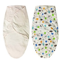 Babies Sleeping Bags Newborn Baby Cocoon Swaddle Wrap Envelope 100%Cotton 0-6 Months Baby Blanket Swaddling Wrap Sleepsack