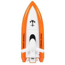 27Mhz Kids High-Speed Remote Control Boat Rc Toy with 2 Motors cool 2 channel r c mini car with remote controller blue white 27mhz