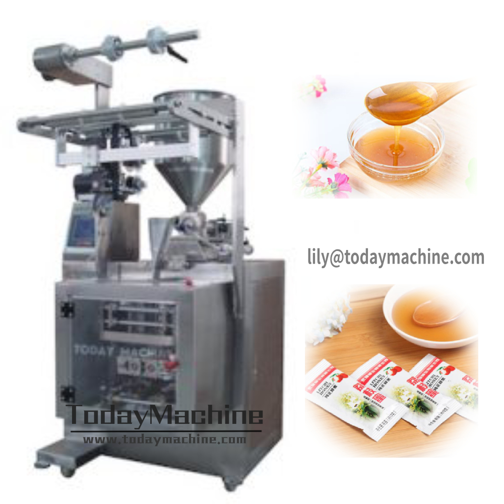 Factory Customized Tomato Ketchup / Cream / Sauce / Jam / Paste Sachets Packing Packaging Machine