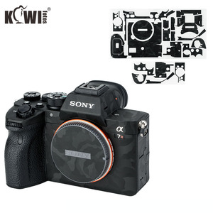 Image 1 - Чехол для Камеры Kiwifotos, защита от царапин, Защитная пленка для Sony A7R IV A7RIV A7R4 A7R Mark IV, черная наклейка 3 м