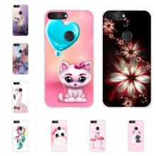 For Alcatel 1S 2019 Phone Case Ultra-slim Soft TPU Silicone 1s Cover Cute Cat Patterned alcatel Bumper Coque