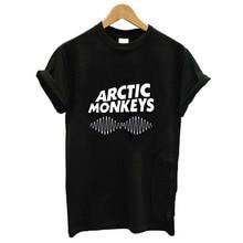 men clothes new arrived arctic monkeys t shirt 2019 100% Cotton street wear tshirt Harajuku Hip Hop Tee Basic T-shirt