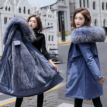 Женское пальто средней и длины с хлопковой подкладкой утепленная